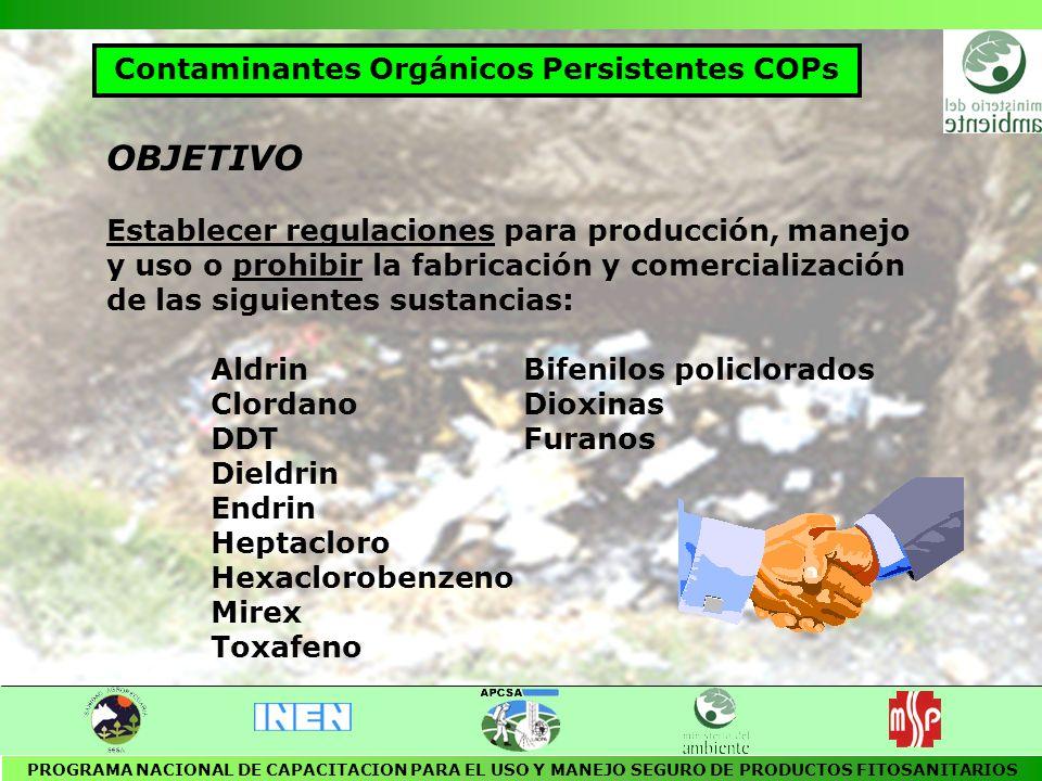 Contaminantes Orgánicos Persistentes COPs