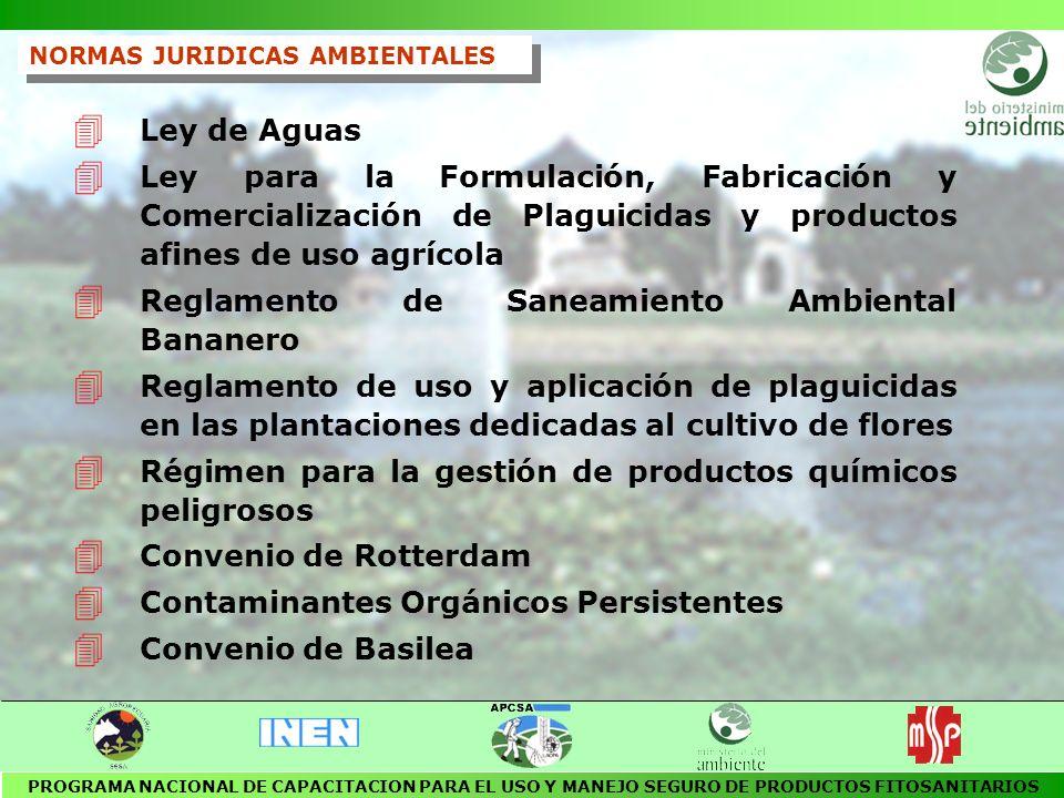 Reglamento de Saneamiento Ambiental Bananero
