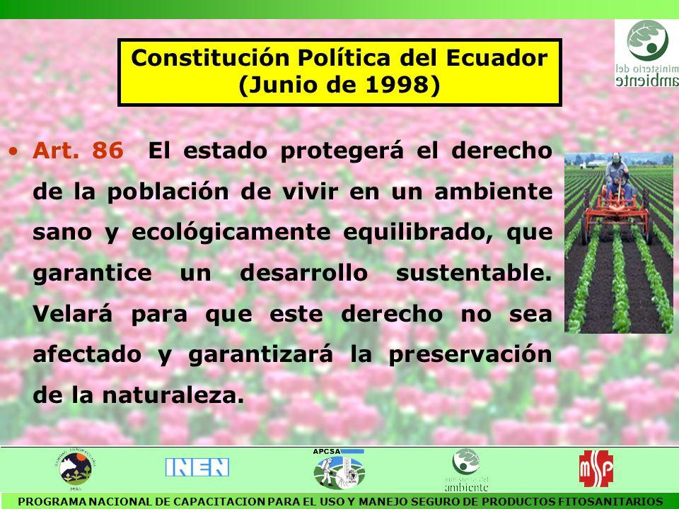 Constitución Política del Ecuador