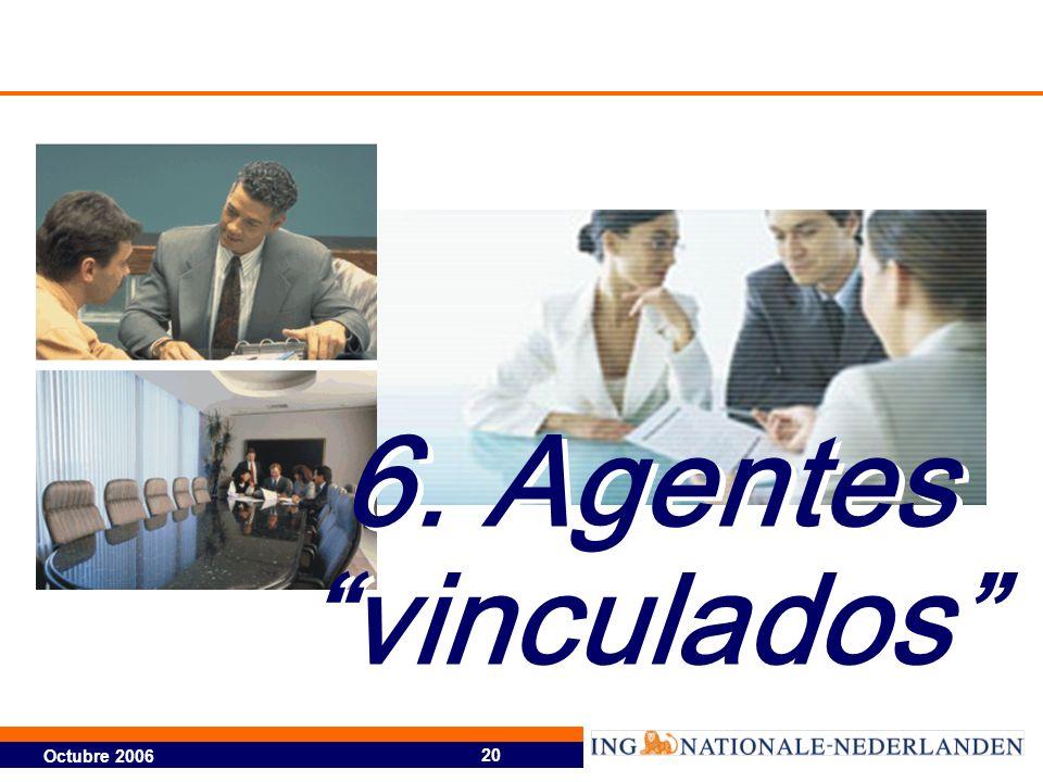 6. Agentes vinculados