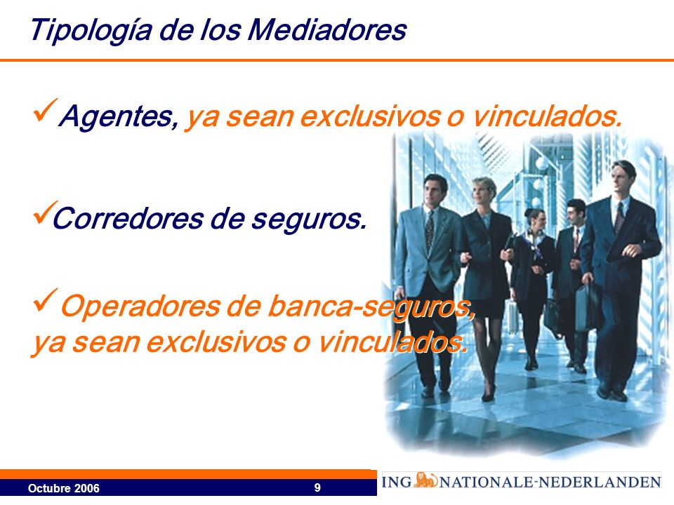 Tipología de los Mediadores