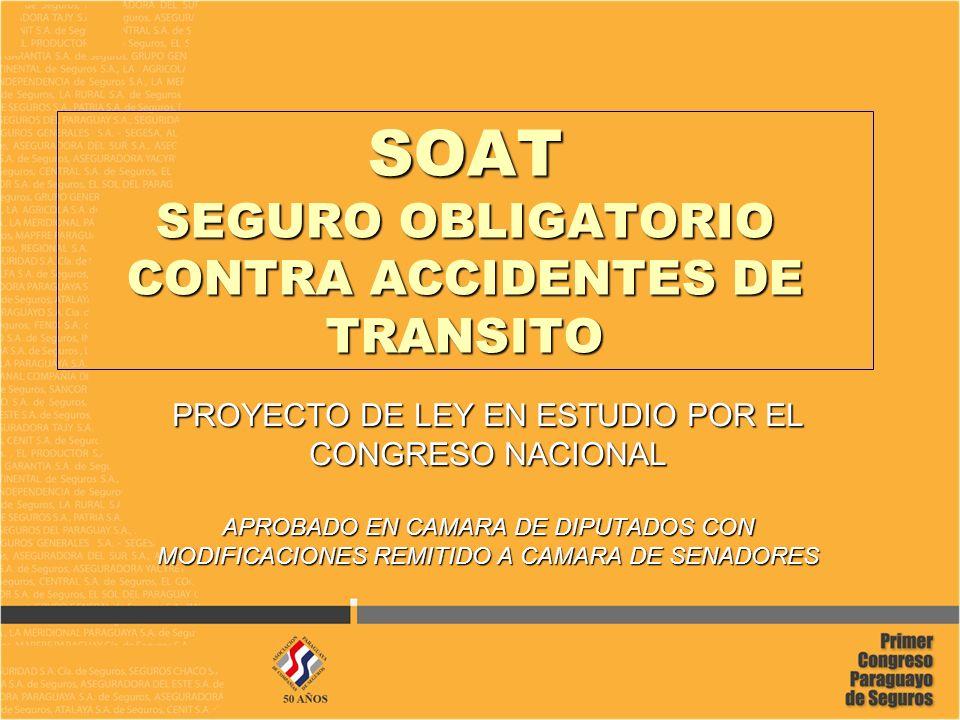 SOAT SEGURO OBLIGATORIO CONTRA ACCIDENTES DE TRANSITO