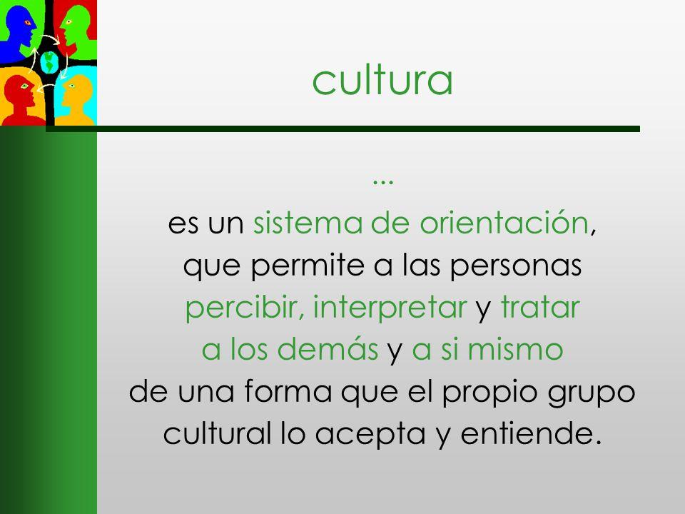 cultura ...