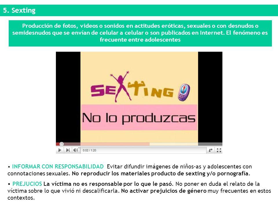 5. Sexting