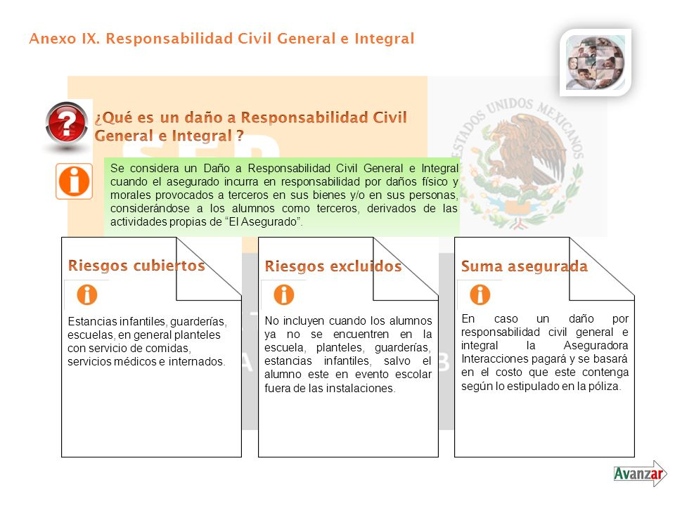 Anexo IX. Responsabilidad Civil General e Integral