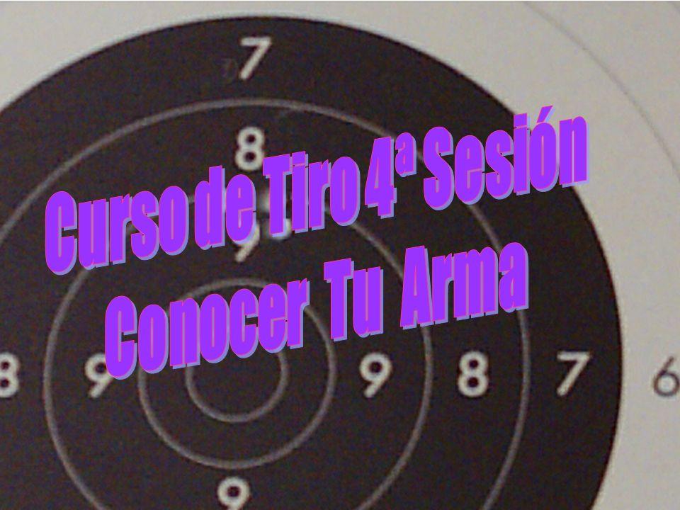 Curso de Tiro 4ª Sesión Conocer Tu Arma
