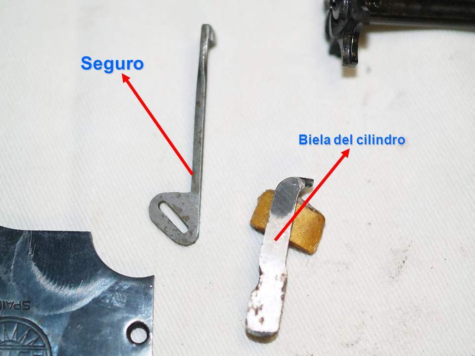 Seguro Biela del cilindro Interposicionador de masas o seguro