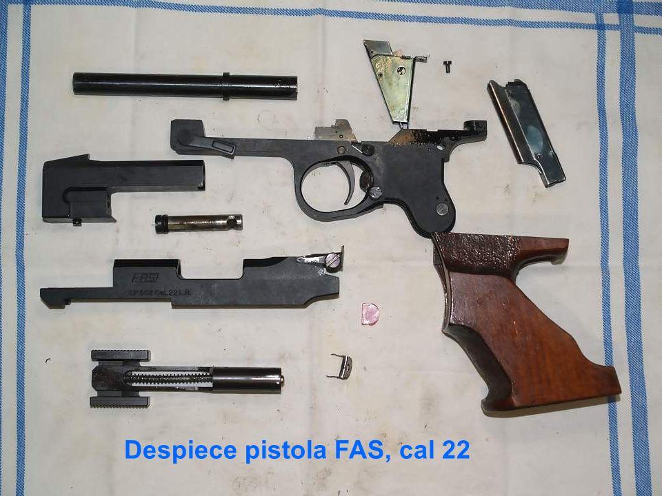 Despiece pistola FAS, cal 22