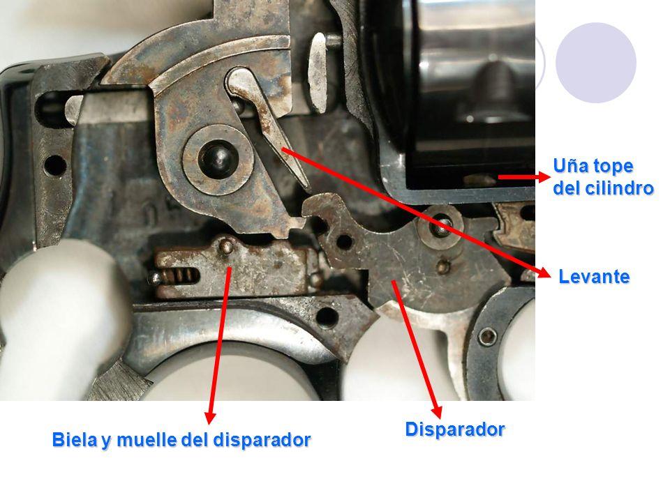 Uña tope del cilindro Levante Disparador Biela y muelle del disparador