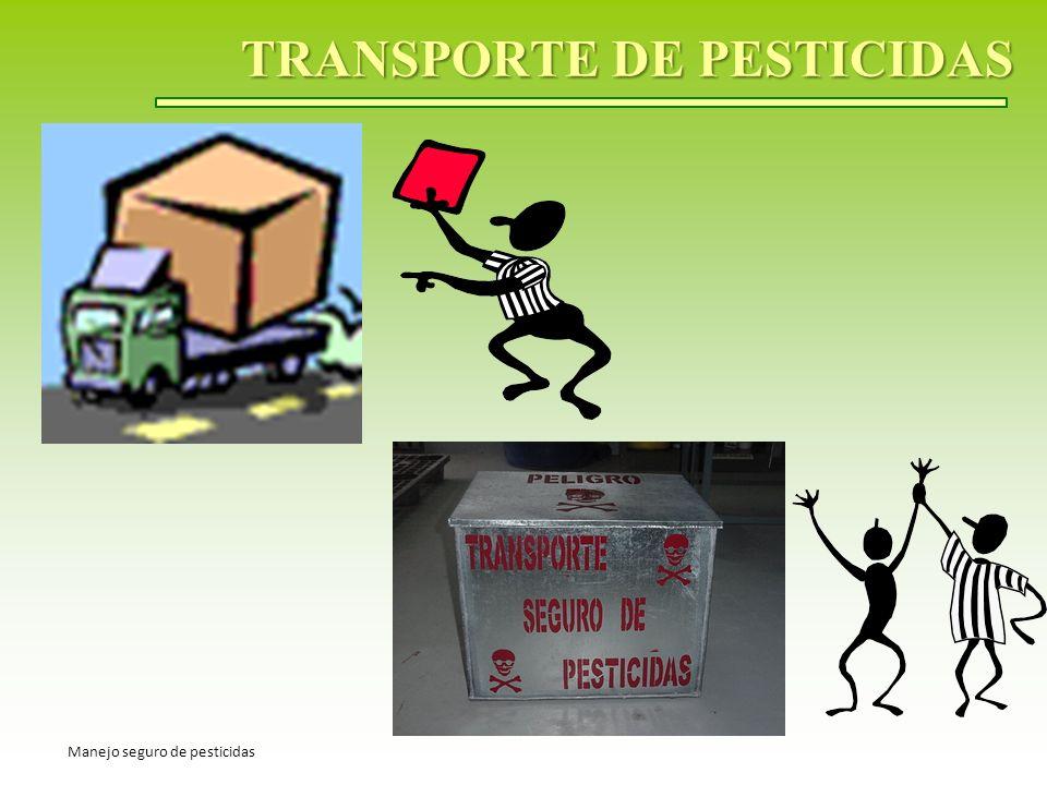 TRANSPORTE DE PESTICIDAS