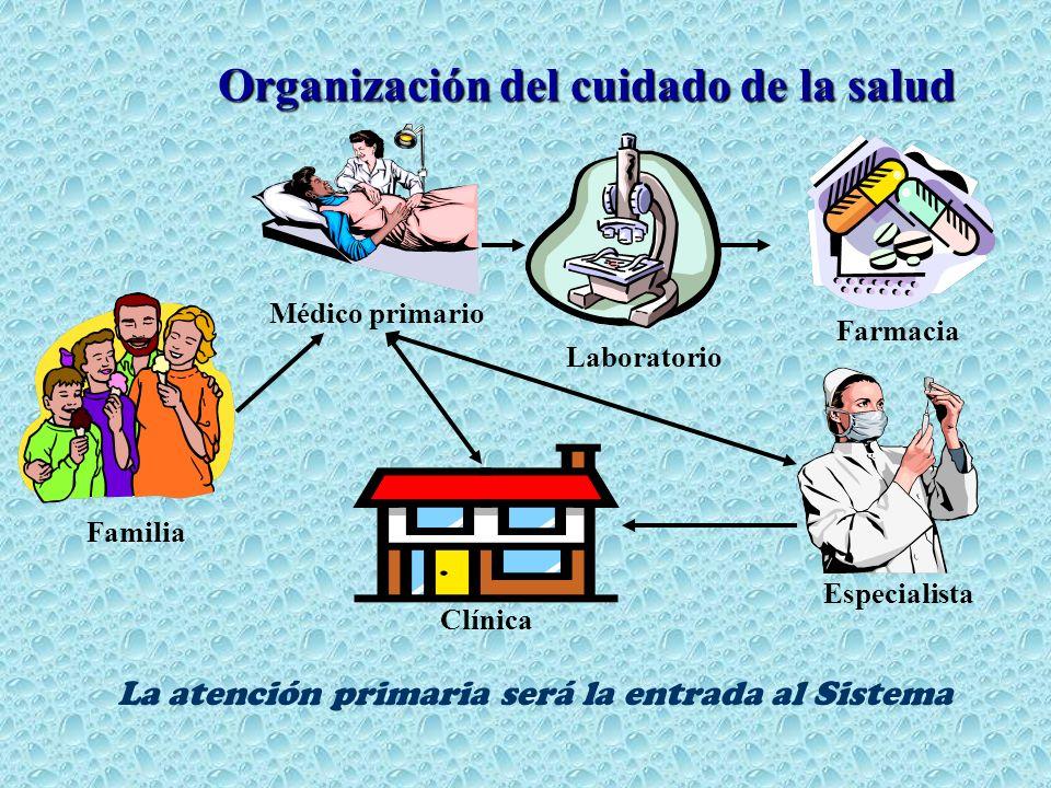 Organización del cuidado de la salud