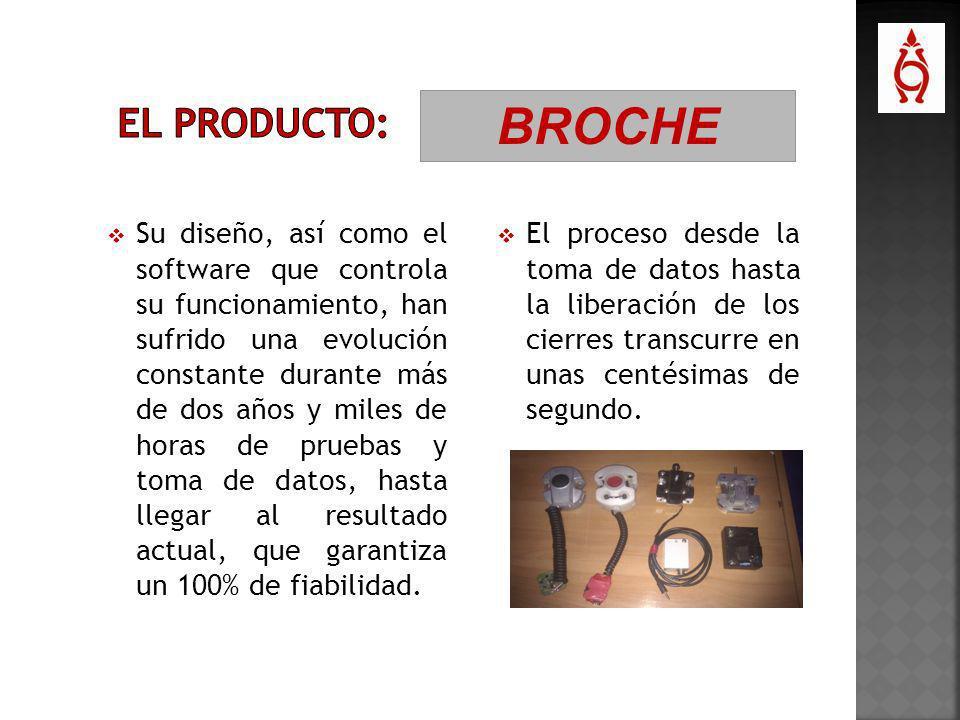 EL PRODUCTO: BROCHE.