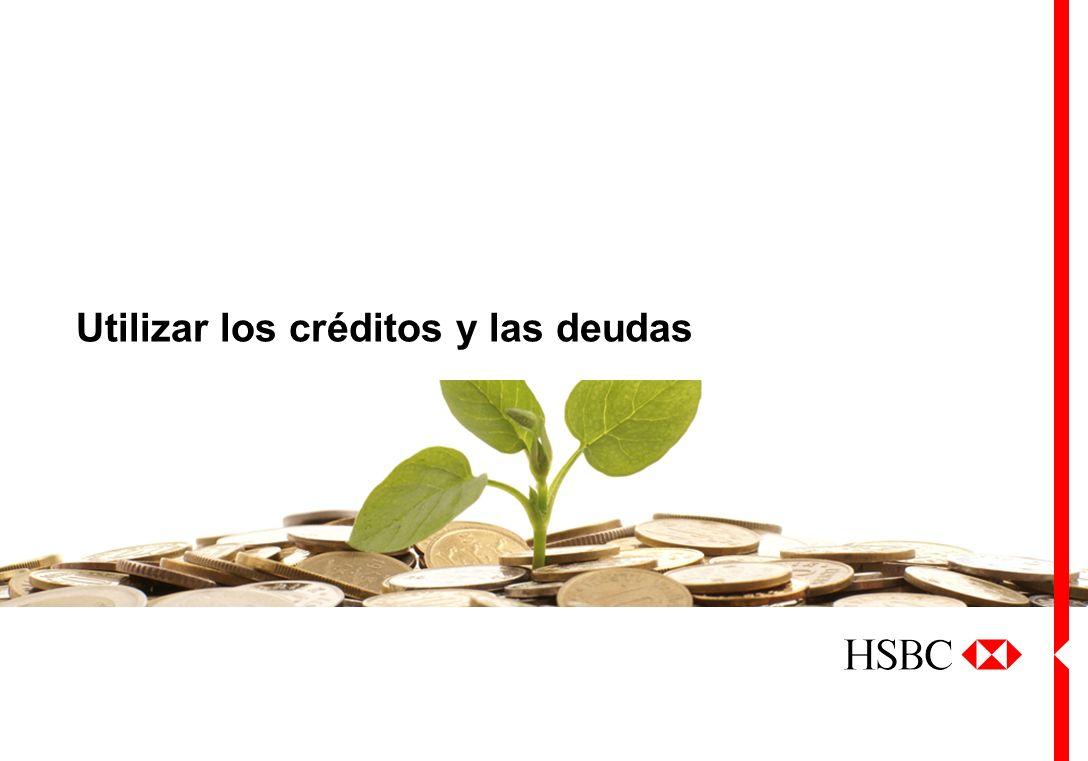 Utilizar los créditos y las deudas