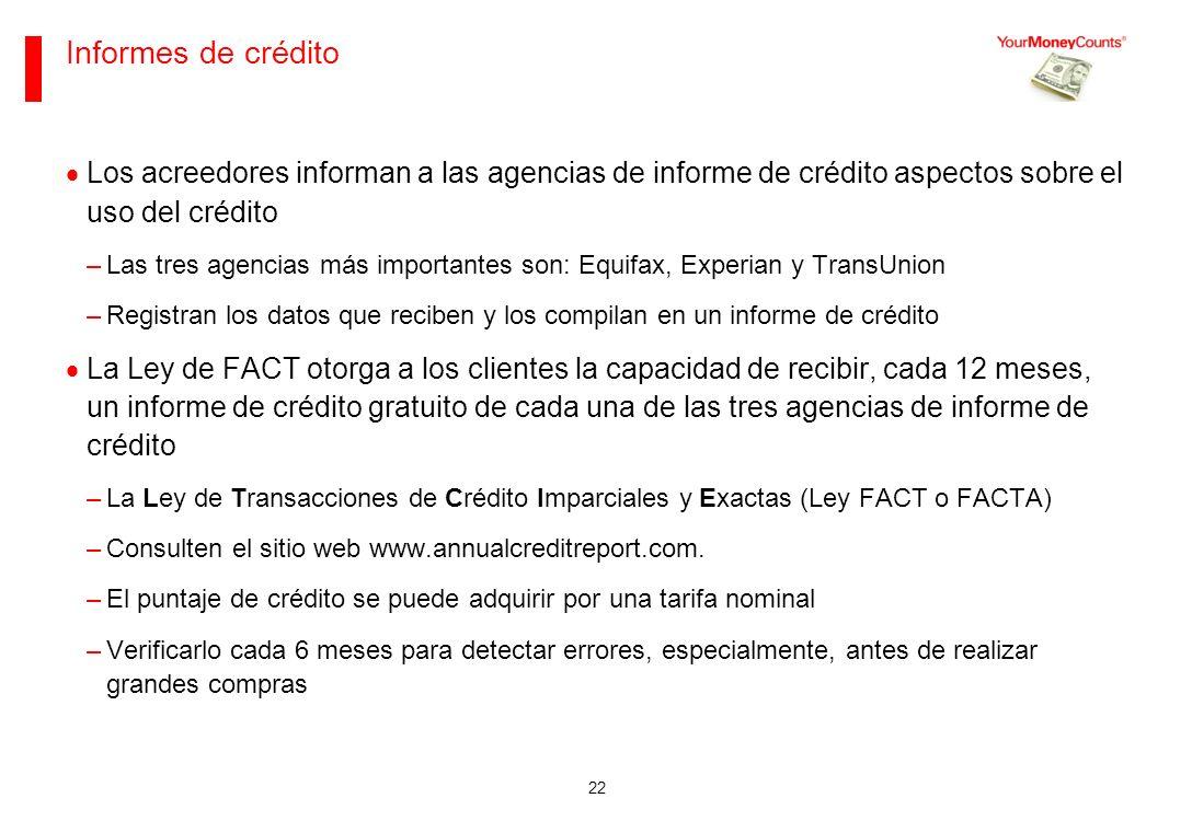 Sus bases financieras Junio de 2013. Informes de crédito.
