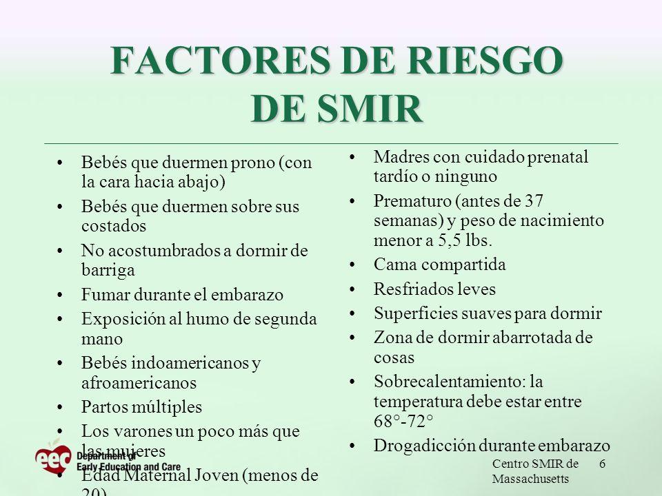 FACTORES DE RIESGO DE SMIR