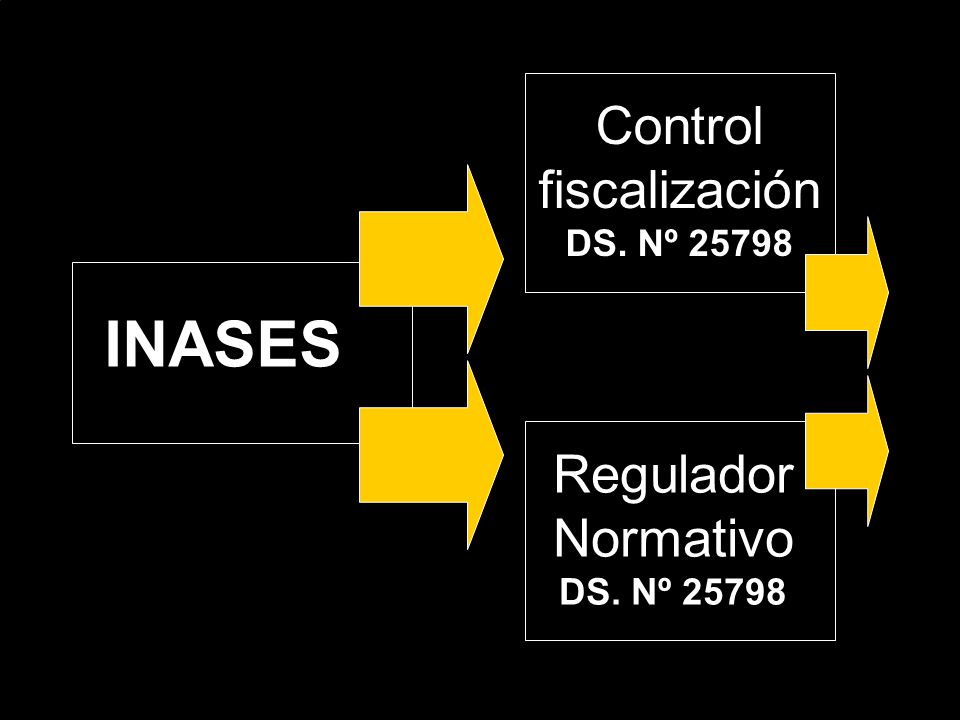 INASES Control fiscalización DS. Nº 25798