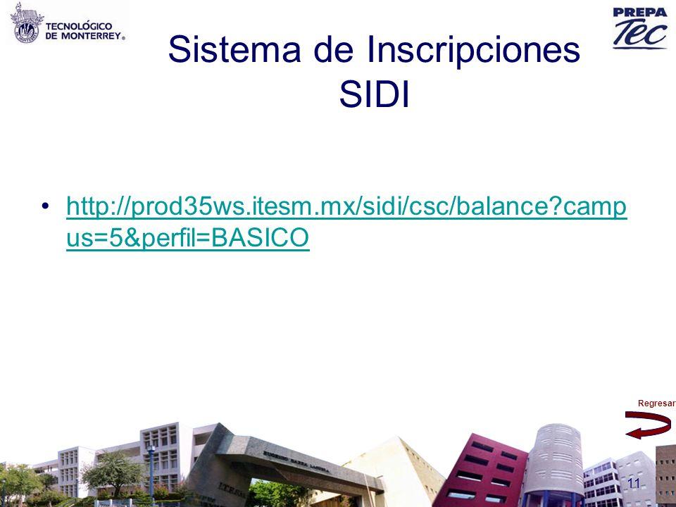 Sistema de Inscripciones SIDI