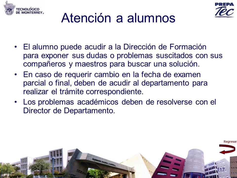 Atención a alumnos