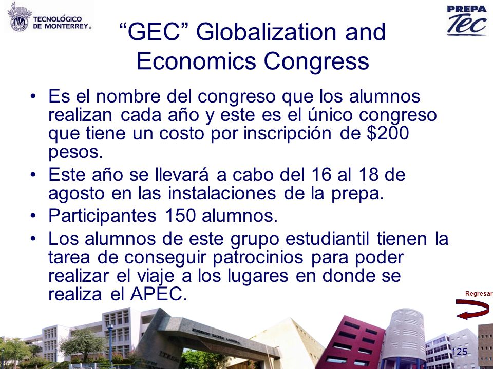 GEC Globalization and Economics Congress