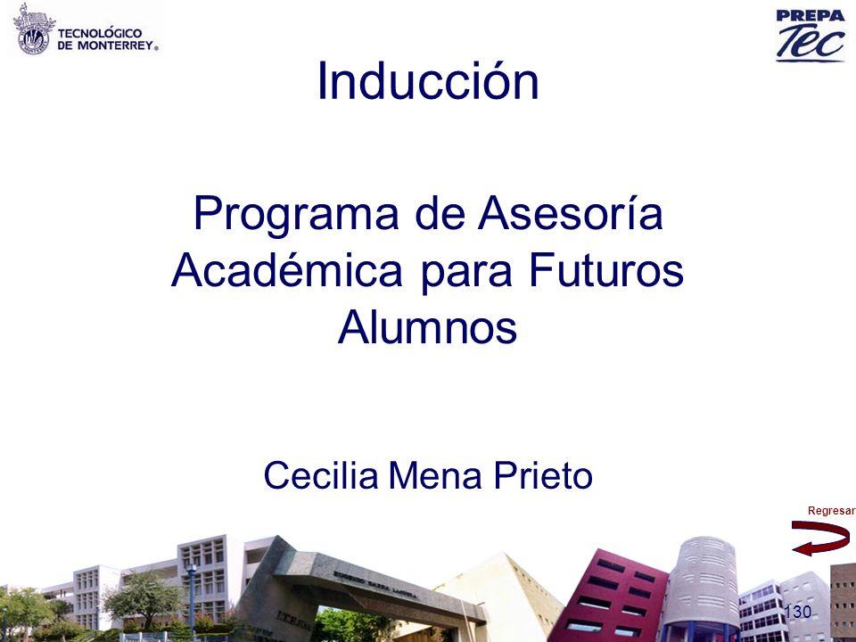 Programa de Asesoría Académica para Futuros Alumnos