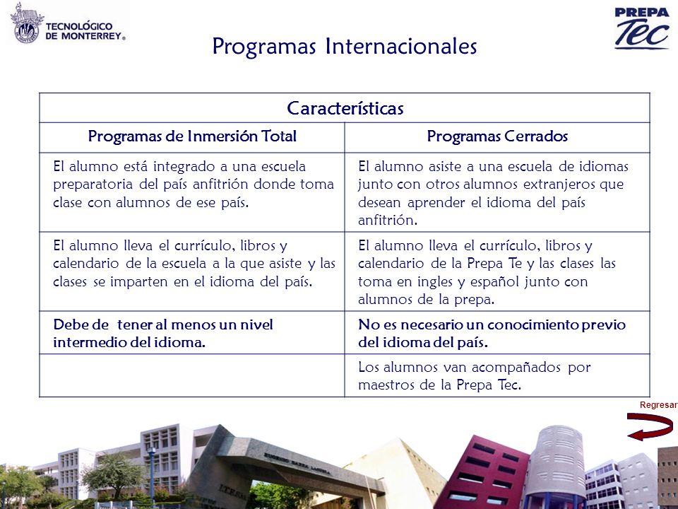 Programas de Inmersión Total