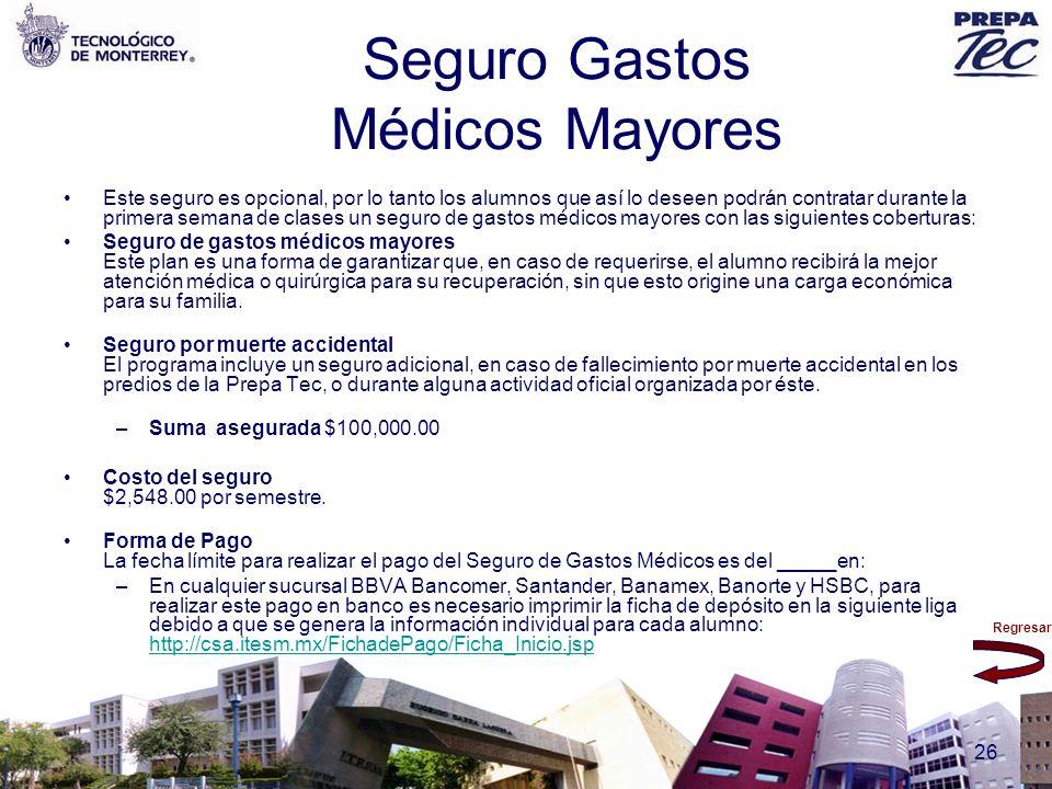 Seguro Gastos Médicos Mayores