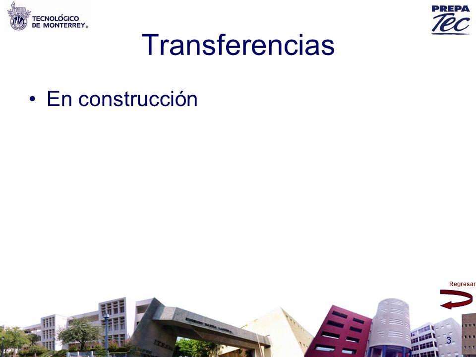 Transferencias En construcción