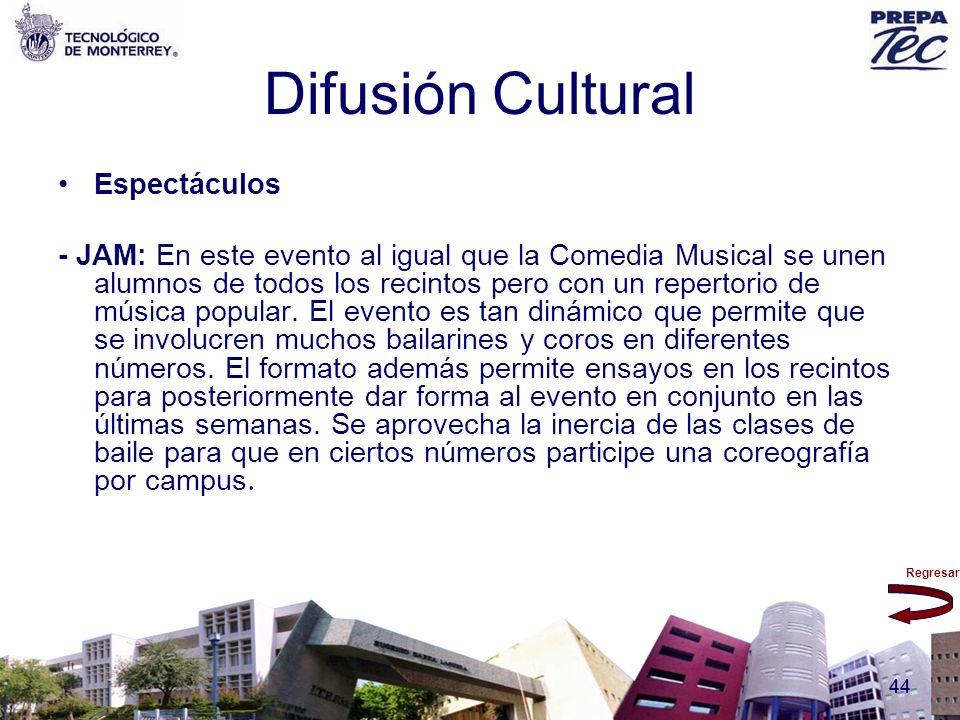 Difusión Cultural Espectáculos