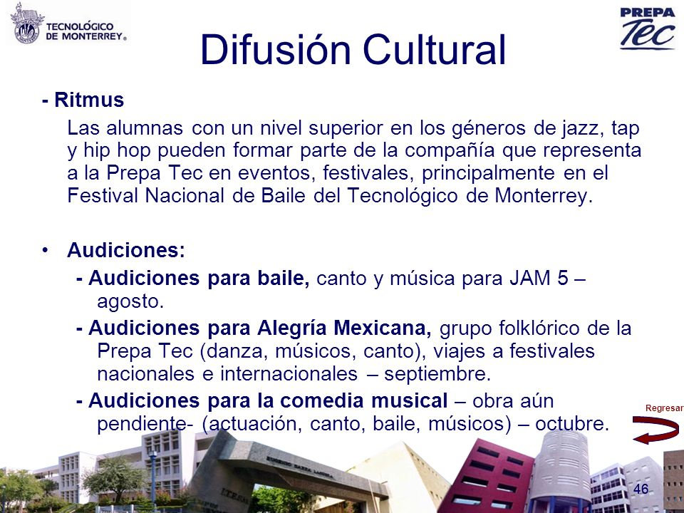 Difusión Cultural - Ritmus
