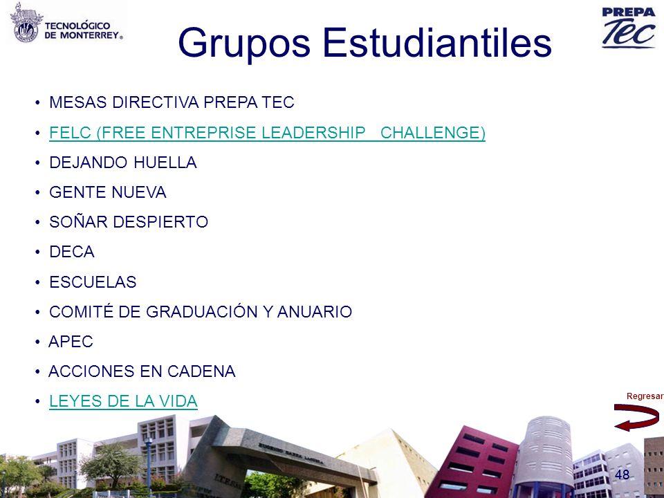 Grupos Estudiantiles MESAS DIRECTIVA PREPA TEC
