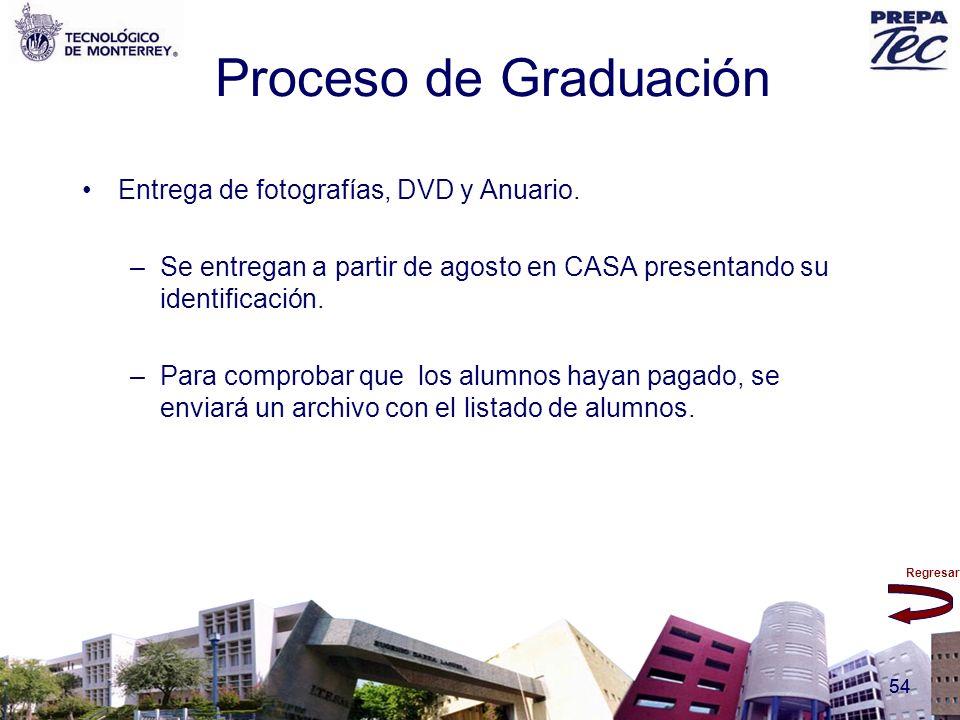 Proceso de Graduación Entrega de fotografías, DVD y Anuario.