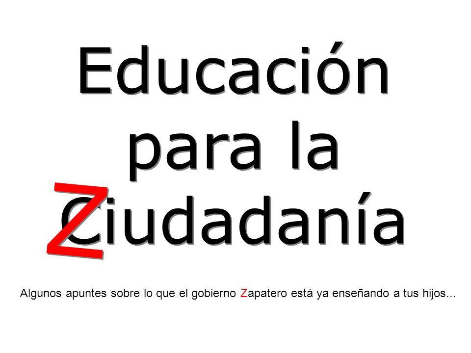 Z Educación para la Ciudadanía