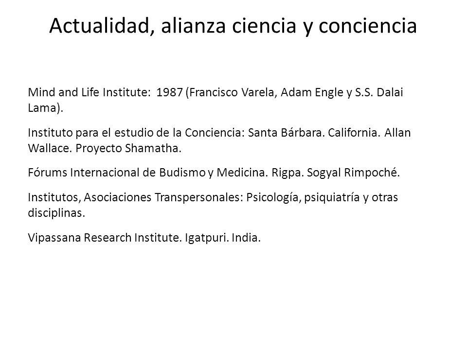 Actualidad, alianza ciencia y conciencia