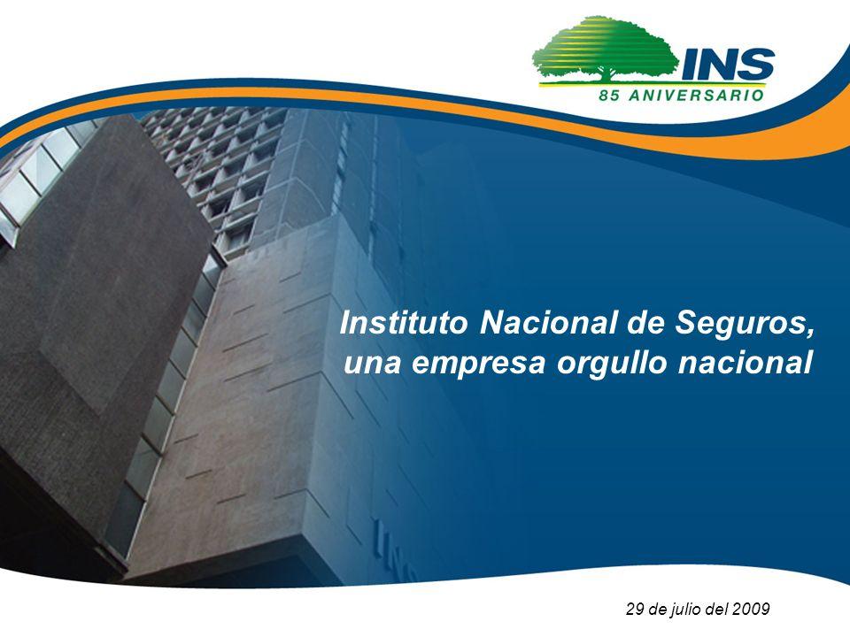 Instituto Nacional de Seguros, una empresa orgullo nacional