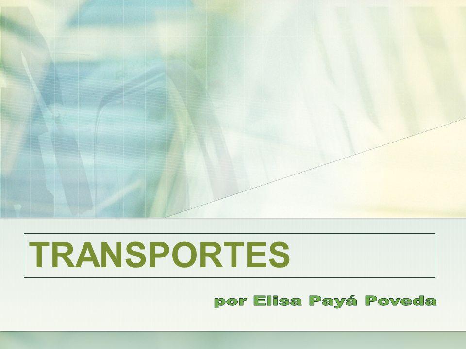 TRANSPORTES por Elisa Payá Poveda