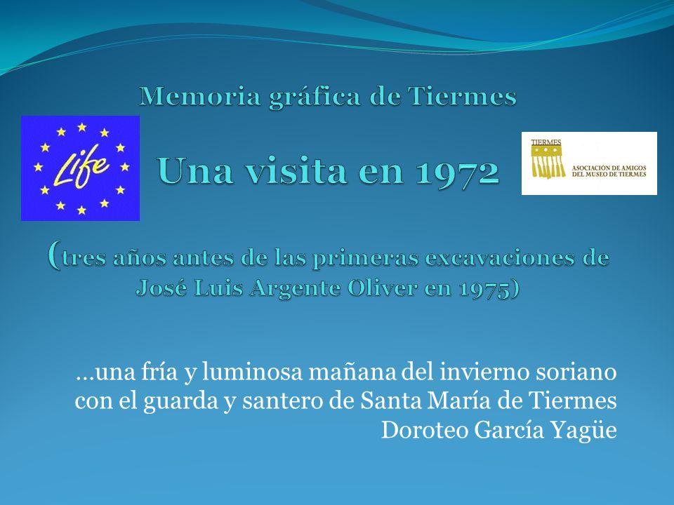 Memoria gráfica de Tiermes Una visita en 1972 (tres años antes de las primeras excavaciones de José Luis Argente Oliver en 1975)