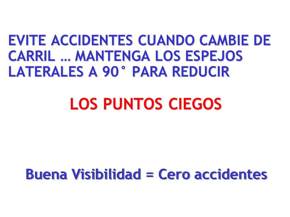 Buena Visibilidad = Cero accidentes