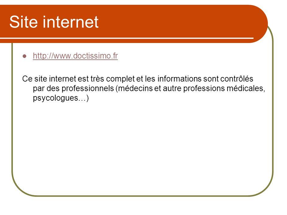 Site internet http://www.doctissimo.fr