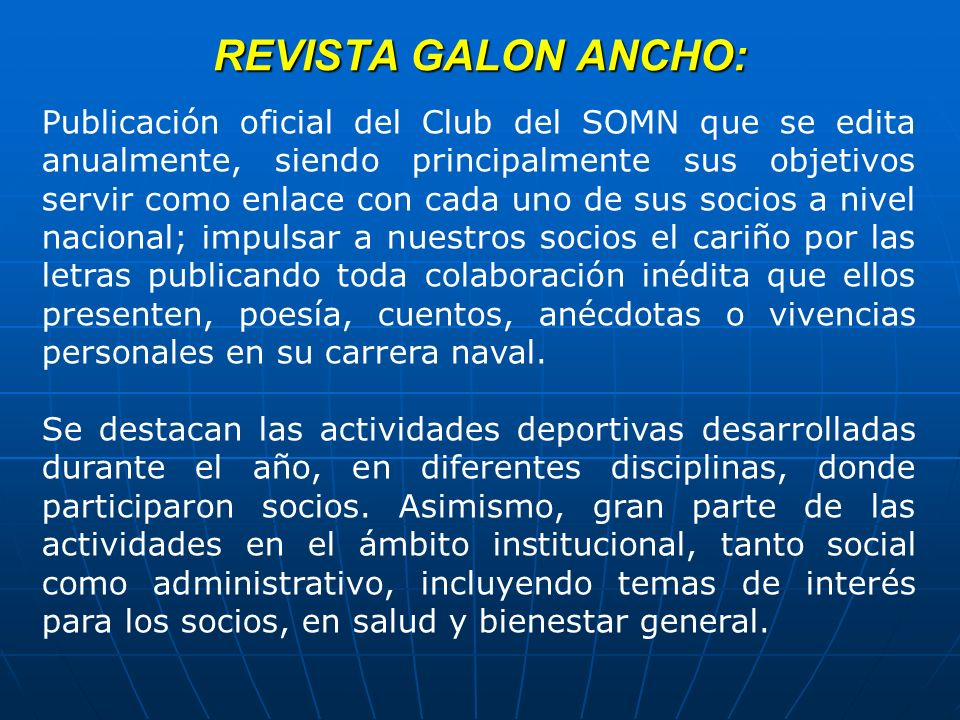 REVISTA GALON ANCHO:
