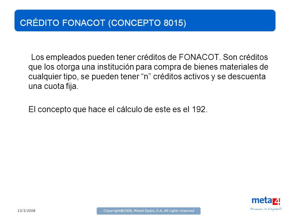 CRÉDITO FONACOT (CONCEPTO 8015)