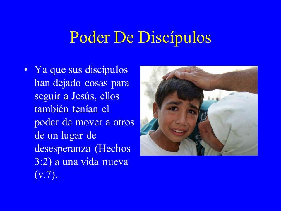 Poder De Discípulos