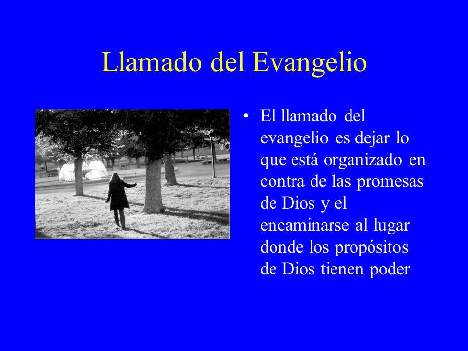 Llamado del Evangelio