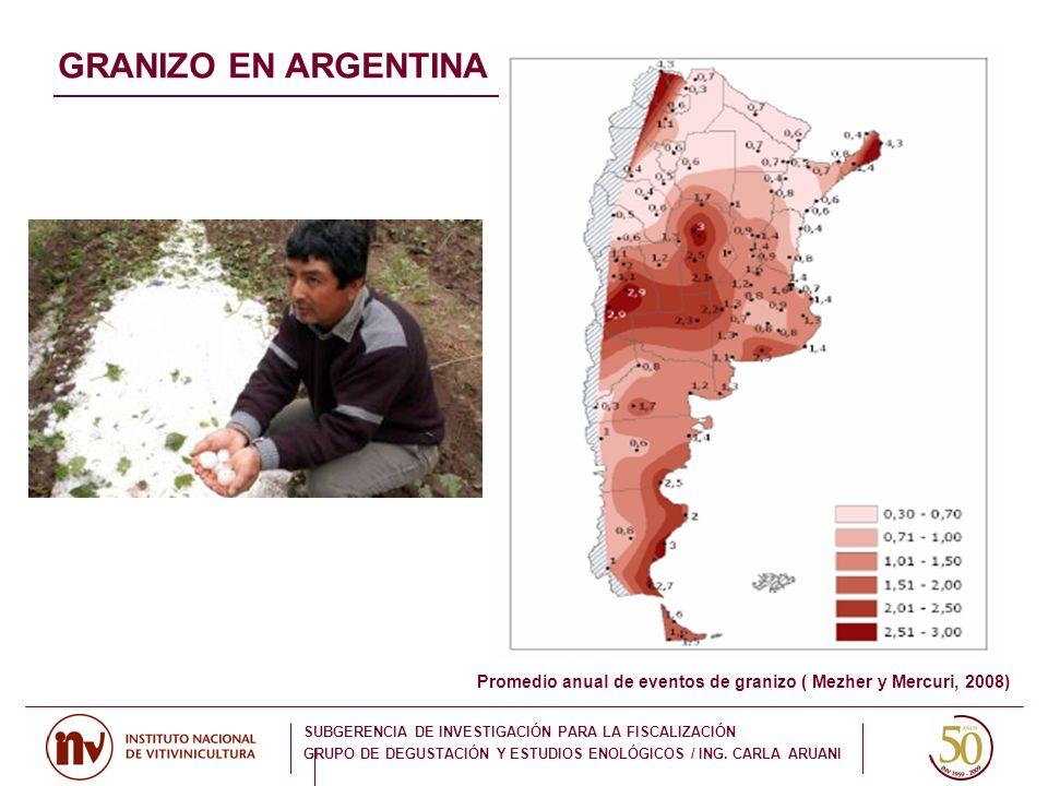 GRANIZO EN ARGENTINA 85 estaciones meteorologicas argentinas