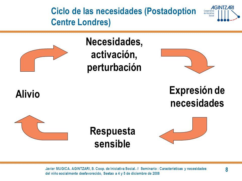 Ciclo de las necesidades (Postadoption Centre Londres)