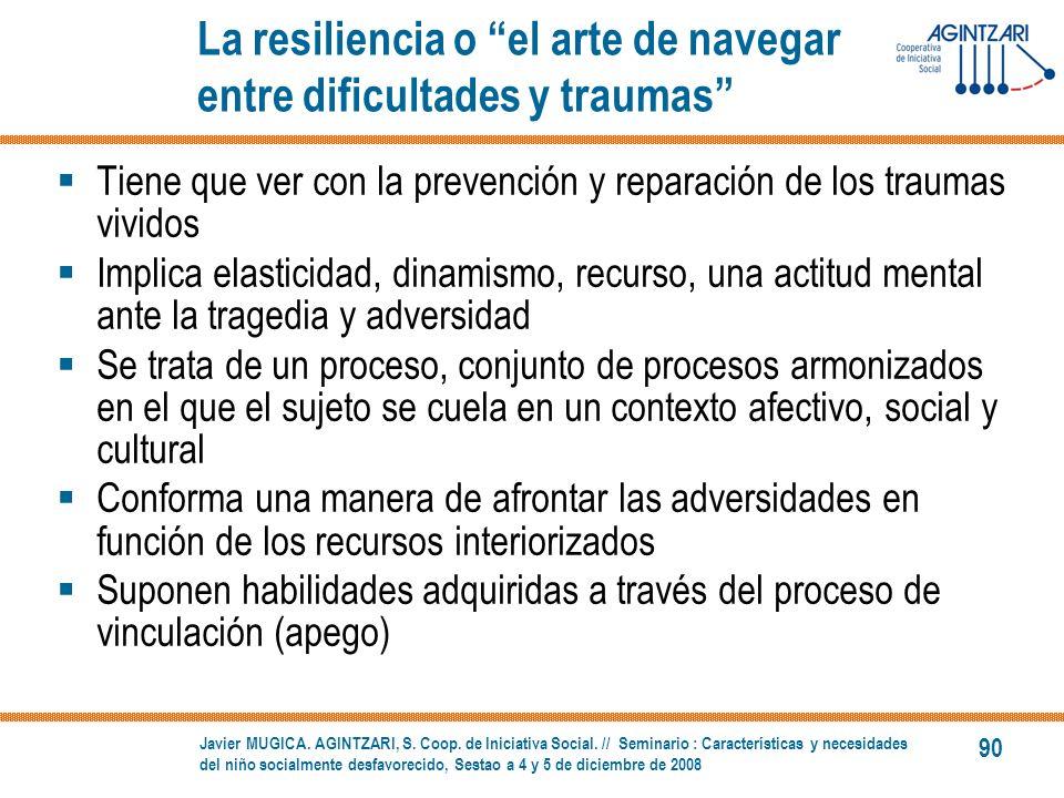 La resiliencia o el arte de navegar entre dificultades y traumas