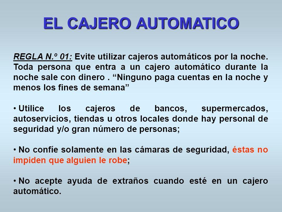 EL CAJERO AUTOMATICO