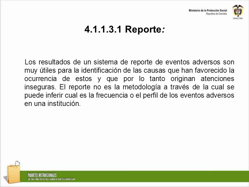 4.1.1.3.1 Reporte: