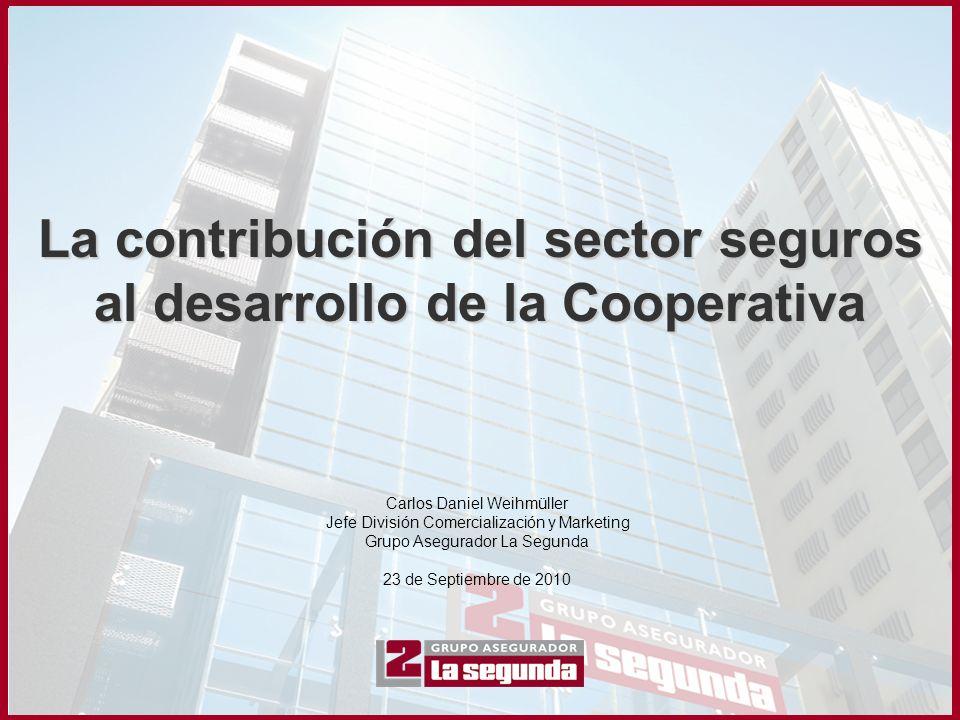 La contribución del sector seguros al desarrollo de la Cooperativa