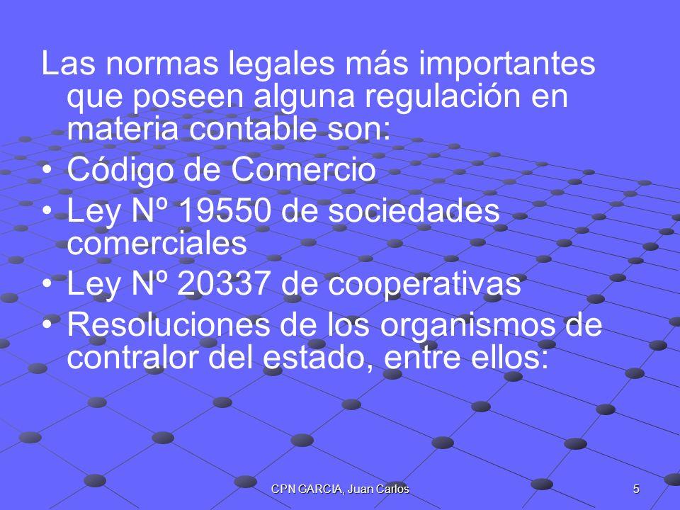 Ley Nº 19550 de sociedades comerciales Ley Nº 20337 de cooperativas