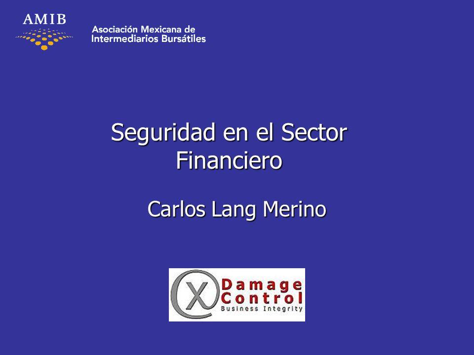 Seguridad en el Sector Financiero